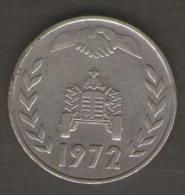 ALGERIA 1 DINAR 1972 - Algeria