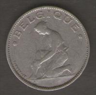 BELGIO BON POUR 1 FRANC 1923 - 1909-1934: Alberto I