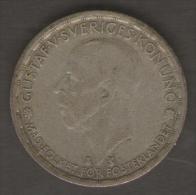 SVEZIA 1 KRONE 1949 AG SILVER - Svezia