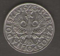 POLONIA 50 GROSZY 1923 - Polonia