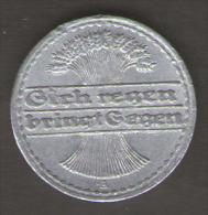 GERMANIA WEIMARER REPUBLIK 2 PFENNIG 1922 - [ 3] 1918-1933 : Repubblica Di Weimar