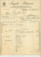 MILAN . ANGELO MILANESI . 1913 . - Italia