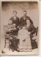 FAMILLE ALFRED COUTISSON ETJOSEPH DELAIL ,PHOTO DUREY FAFOURNOUX MACON-VILLEFRANCHE   REF 44447 - Persone Identificate
