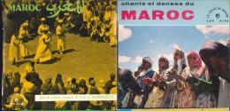 2 X 45 Tours    Maroc - Wereldmuziek