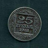 Münster 25 Pfennig 1918, UNC, Fe - [ 3] 1918-1933 : República De Weimar