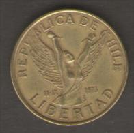 CILE 10 PESOS 1981 - Cile