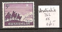 Australie 262 ** Côte 0.45 € - 1952-65 Elizabeth II: IEmissione Prima Decimali