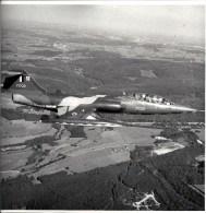 SUPERBE LOT 30 PHOTOS - AVIATION MILITAIRE  1970... -  1974 Par 42 ESC RECCE BAF - Dimensions 21,5 / 21,5 CM - 1946-....: Modern Tijdperk