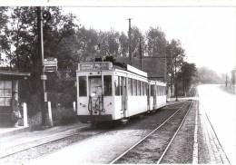 Photo Tram - COUDENBERG - Essene Entre Asse Et Hekelgem - Evitement Le Long De La Route - 1963 - Strassenbahnen