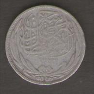 EGITTO 2 PIASTRES 1917 AG SILVER - Egitto