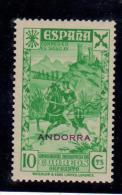 ANDORRA BENEFICENCIA Nº 2. SIN CHARNELA. - Nuevos