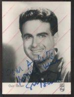 AUTOGRAPHE - GUY BEART - Autographs