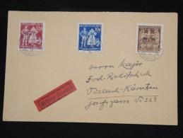 BOHEME ET MORAVIE - Enveloppe En Exprés De Prague En 1944 - Aff. Plaisant - à Voir - Lot P8351 - Lettres & Documents
