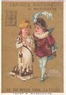 """Chromo TAPIOCA NATUREL A. MAUPRIVEZ (Paris) - """"Faust & Marguerite"""" - 6,7 X 9,8 Cm - Chromos"""