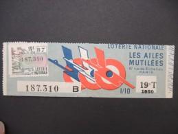 Billets De Loterie - Détaillons Jolie Collection - A Voir - Lot N° 8228 - Billets De Loterie