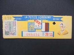 Billets De Loterie - Détaillons Jolie Collection - A Voir - Lot N° 8230 - Billets De Loterie