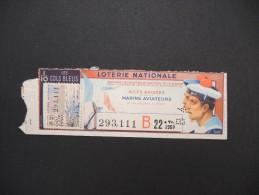 Billets De Loterie - Détaillons Jolie Collection - A Voir - Lot N° 8232 - Billets De Loterie