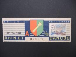 Billets De Loterie - Détaillons Jolie Collection - A Voir - Lot N° 8236 - Billets De Loterie