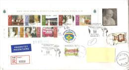 POLONIA - 2003  Racc. Da SZCZECIN Con 8v. Foglietto + 1v. Franc. Argentato Del 25° Anniv. Pontificato + Ann.spec. - Papas