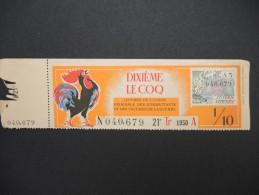Billets De Loterie - Détaillons Jolie Collection - A Voir - Lot N° 8237 - Billets De Loterie