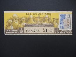 Billets De Loterie - Détaillons Jolie Collection - A Voir - Lot N° 8241 - Billets De Loterie