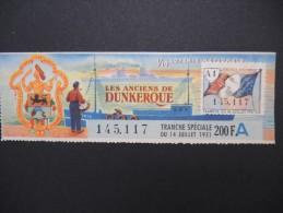 Billets De Loterie - Détaillons Jolie Collection - A Voir - Lot N° 8243 - Billets De Loterie