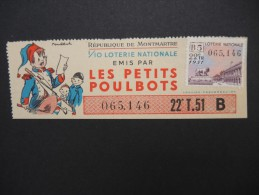 Billets De Loterie - Détaillons Jolie Collection - A Voir - Lot N° 8244 - Billets De Loterie