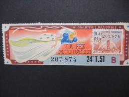 Billets De Loterie - Détaillons Jolie Collection - A Voir - Lot N° 8245 - Billets De Loterie