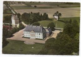 ETROUSSAT-1971--Vue Aérienne-Chateau De Douzon,cpsm 15 X 10 N°517-104 A éd Combier..à Saisir-Beau Cachet ETROUSSAT-03 - France