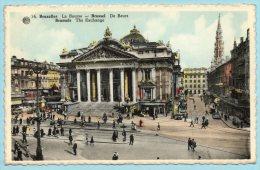 Bruxelles La Bourse - Brussel De Beurs - Non Classificati