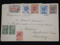 AUTRICHE - Enveloppe Pour Le Luxembourg En 1922 - Affr. Plaisant - à Voir - Lot P8359 - 1918-1945 1. Republik