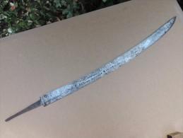 """Lame Courbe  De Sabre ,(n°3) """"Manufacture RL Du Kligenthal.1818 - Knives/Swords"""