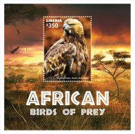 Liberia-2015-Birds-African Birds Of Prey - Liberia