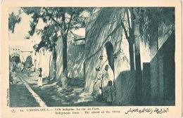 CASABLANCA. Ville Indigène. La Rue Au Four. 54 - Casablanca