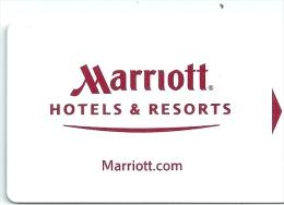HOTEL MARRIOTT , llave clef key keycard hotelkarte