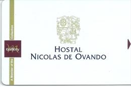 HOTEL MERCURE ? HOSTAL NICOLAS DE OVANDO, REPUBLICA DOMINICANA, llave clef key keycard hotelkarte