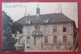 - LANGRES (Haute Marne) HOPITAL MILITAIRE - Pub MICHELIN - CACHET MILITAIRE AU DOS - - Langres