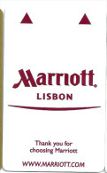 HOTEL MARRIOTT LISBON , llave clef key keycard hotelkarte