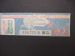 Billets De Loterie - Détaillons Jolie Collection - A Voir - Lot N° 8252 - Billets De Loterie