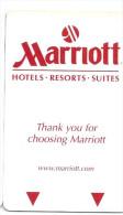 HOTEL MARRIOTT RESORT SUITES , llave clef key keycard hotelkarte