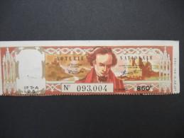 Billets De Loterie - Détaillons Jolie Collection - A Voir - Lot N° 8256 - Billets De Loterie