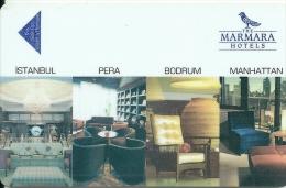 HOTEL MARMARA ISTAMBUL  llave clef key keycard hotelkarte