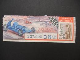 Billets De Loterie - Détaillons Jolie Collection - A Voir - Lot N° 8261 - Billets De Loterie