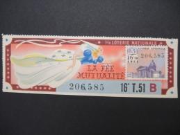 Billets De Loterie - Détaillons Jolie Collection - A Voir - Lot N° 8262 - Billets De Loterie