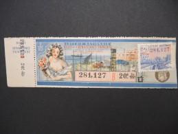 Billets De Loterie - Détaillons Jolie Collection - A Voir - Lot N° 8263 - Billets De Loterie