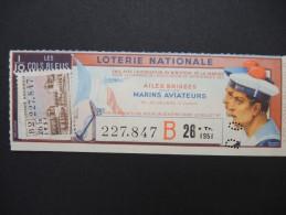 Billets De Loterie - Détaillons Jolie Collection - A Voir - Lot N° 8264 - Billets De Loterie