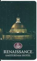 HOTEL RENAISSANCE REVERSE GASSAN AND PIGUET PUBLICITY llave clef key keycard hotelkarte