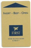 HOTEL FIRST SWEDEN  llave clef key keycard hotelkarte