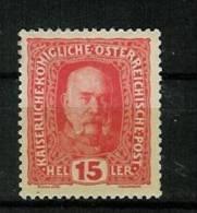 �sterreich 1916:  Kaiserkrone/Kaiser/Wappen ,  Mi.-Nr. 190    **