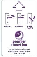 HOTEL PREMIER TRAVEL INN  llave clef key keycard hotelkarte